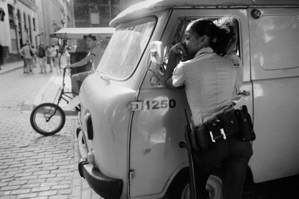 Havana, Cuba, Policewoman