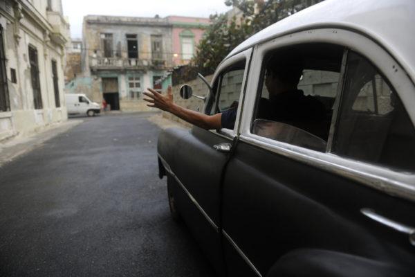 Havana, Cuba, taxidriver
