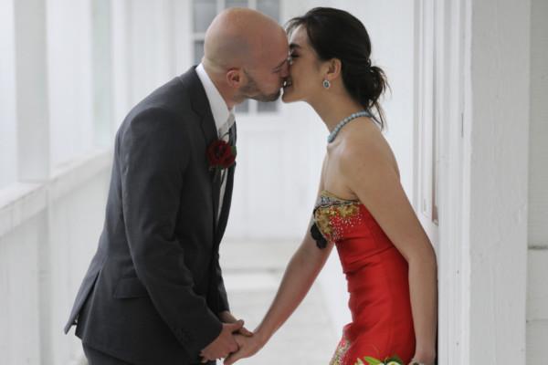 Michael og Ellens bryllup
